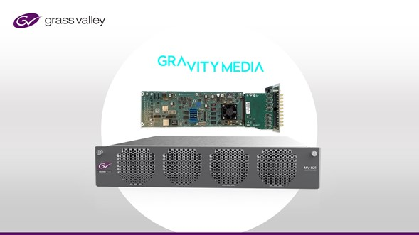 Press Release: GV IP Solutions Give Gravity Media a Smart, Flexible Live Production Infrastructure