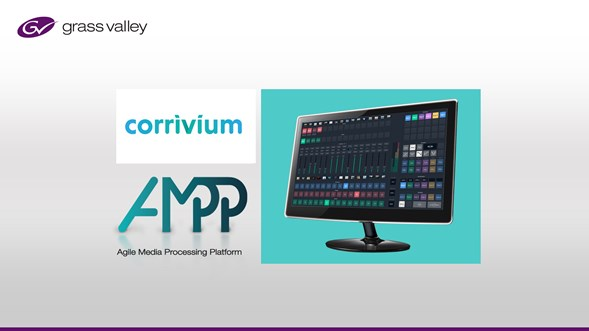 Grass Valley's Cloud-Based Platform, GV AMPP, Enables Corrivium to Turn On Virtual Event Productions