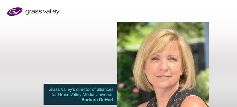 20210406 - Grass Valley Steps Up Expansion of GV Media Universe With Appointment of Barbara DeHart