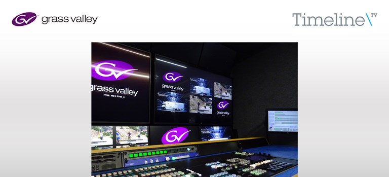 Press Release: Timeline Television's New 4K IP Truck Packs a Punch with Grass Valley Solutions