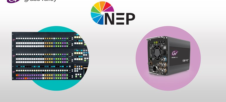 Press Release: GV Solutions Underpin NEP Europe's Expanded IP Production Capability for a Summer....
