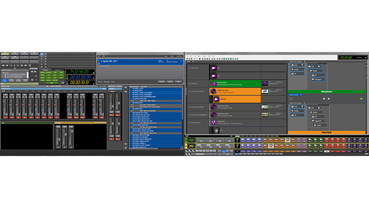 Ignite v11 User Interface Dual Screen