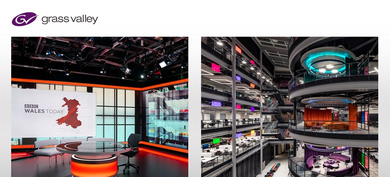 Press Release: GV Tech Behind the World's Largest SMPTE 2110 IP Network at BBC Cymru Wales