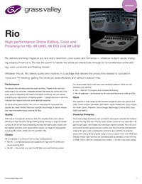 Rio For Post DS-PUB-2-0723B-EN