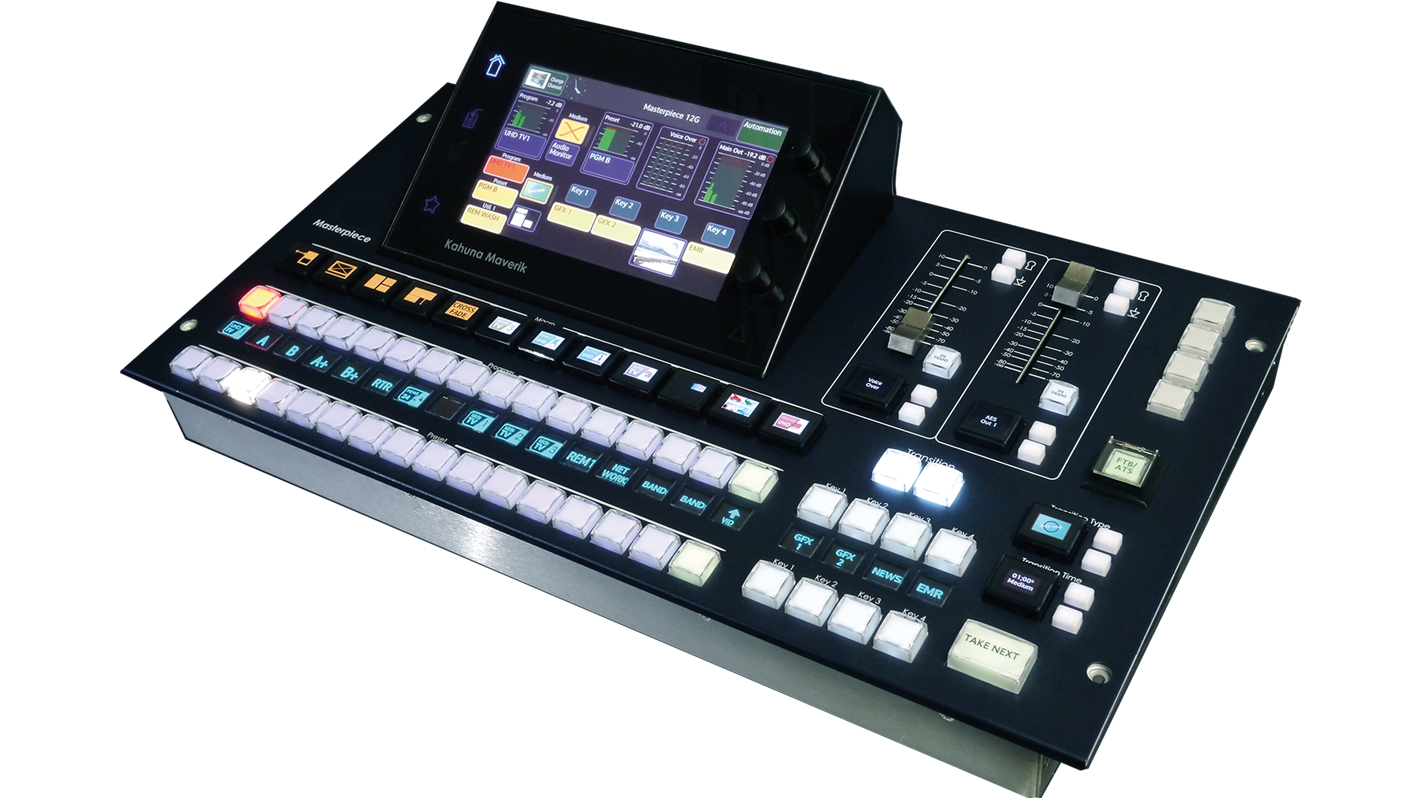 Masterpiece IP Master Control Switcher