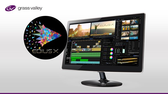 Press Release: Grass Valley Launches Next-Generation in Editing Software with EDIUS X